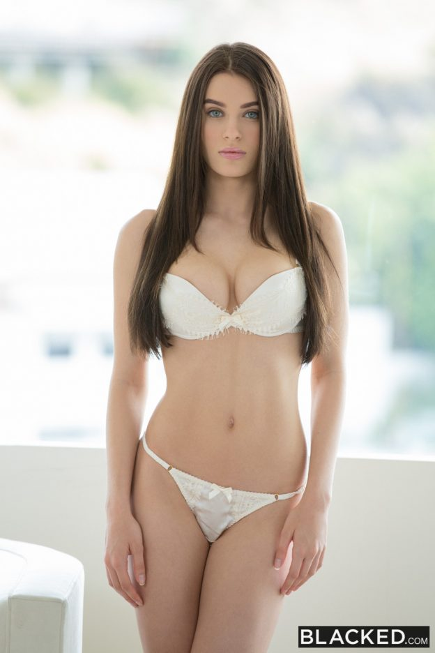 Lana Rhoades with Flash Brown