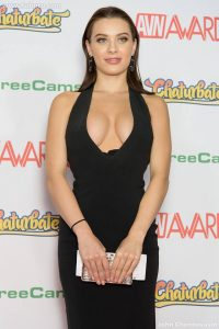 Lana Rhoades at the 2017 AVN Awards